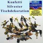 Silvester Konfetti Tischdekoration (Silvester Konfetti 03 36866)