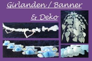 Girlanden / Banner & Deko - Girlanden / Banner & Deko