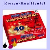 Kleines Silvester-Feuerwerk, Riesen-Knallteufel (Silvester NI 5523)