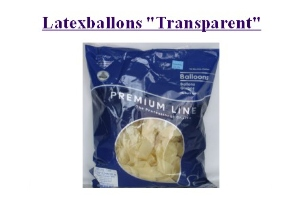 Latexballons 30cm Transparent - Latexballons 30cm Transparent