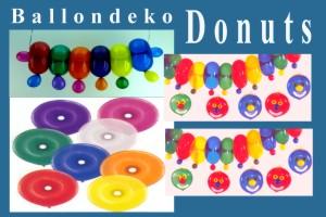 Donuts Ballons, Ballondeko - Donuts Ballons, Ballondeko