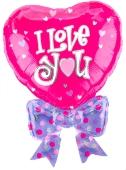 I Love You Herz Fly Jumbo (heliumgefüllt) (FHGE 01/184)