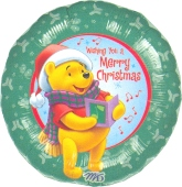 Pooh Merry Christmas (heliumgefüllt) (FHGE WM E 3)
