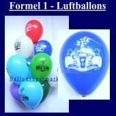 Motiv-Luftballons-Rennwagen-Formel-1 (Motiv-Luftballons-Formel-1-GF-176)