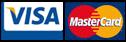 Zahlen Sie bequem per Kreditkarte (American Express, MasterCard oder Visa)